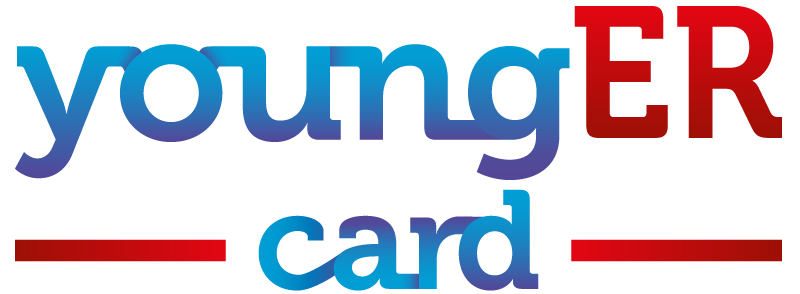 logo younger card